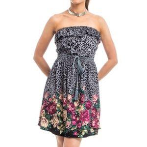 NWT floral print summer dress